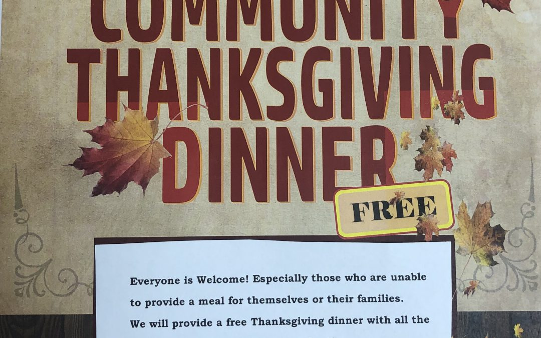 FREE- Thanksgiving Dinner