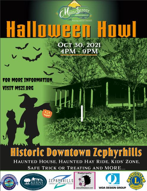Zephyrhills Halloween Howl Event